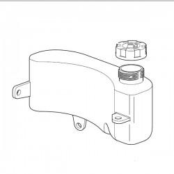 Réservoir tondeuse moteur GGP